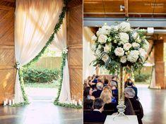The Foundry at Puritan Mill Wedding :: Meagan + Brandon :: with Tyler Formal Wedding, Wedding Ceremony, Atlanta Wedding, Social Events, Ceremony Decorations, Local Artists, Wedding Photos, Wedding Ideas, Backdrops