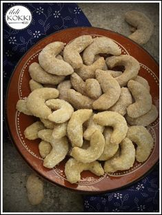 Hungarian Recipes, Avocado Recipes, Christmas Baking, Gingerbread Cookies, Sausage, Biscuits, Food And Drink, Delicate, Sweets