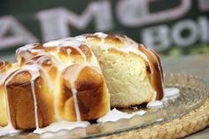 Aprenda a fazer a receita de Rosca Portuguesa com Fondant