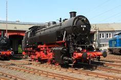 German Steam Locomotive 82 008 (ex 082 008-4) in the Südwestfälische ...