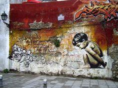 #Graffitis, elninodelaspinturas.es #Granada, Spain