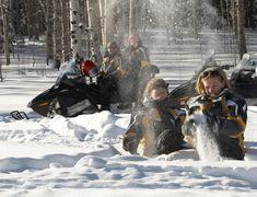 Snowmobiling at Sunlight Mountain Resort, Glenwood Springs, CO