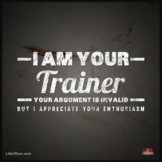 I Am Your Trainer