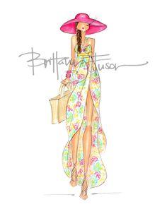 Watercolor [ brittanyfuson.blogspot.com ]