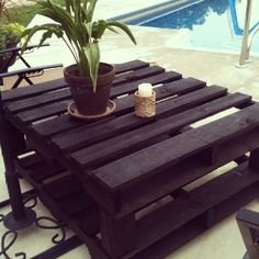 My pallet table