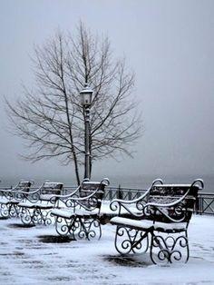 Winter.. Ioannina, Epirus, Greece Paros, Santorini, Greece Itinerary, Winter Palace, Winter Scenery, Greece Wedding, Paradise On Earth, Snowy Day, Thessaloniki