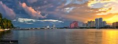 downtown-west-palm-beach-at-sunset-panorama-hdr-justin-kelefas-hdrcustoms