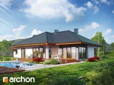 gotowy projekt Dom w alwach Gazebo, Outdoor Structures, Outdoor Decor, House, Home Decor, Kiosk, Decoration Home, Home, Room Decor