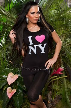 """Cooles T-Shirt """"I Love NY"""" Wetsuit, Sexy, Swimwear, T Shirt, Tops, Fashion, Cool T Shirts, Scuba Wetsuit, Bathing Suits"""