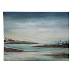 Boundless Sky and Sea Canvas Art Print