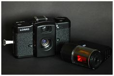 Lomo LCA Camera .. takes incredible photographs, comes with a plethora of color filters. I made a photo book for my girlfriend's birthday that I may pin in DIY. Needless to say, it turned out amazing. I take it everywhere. Film junkie!