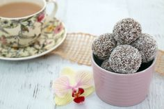 This is the easiest Kid-Friendly Rum Balls - simply combine crushed biscuits, cocoa, coconut and condensed milk to make these delicious little treats!