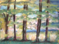 "Painted 2004  ""Carolina in the Morning"""