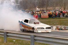 Manhart & Roshto Funny Car, Keystone Raceway Park, New Alexandria, PA.