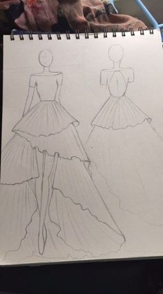 fashion sketches Fashion Drawing Figure Art 52 Ideas - Source by - Dress Design Drawing, Dress Design Sketches, Fashion Design Sketchbook, Fashion Design Drawings, Fashion Sketches, Art Sketchbook, Ski Drawing, Wedding Dress Sketches, Dress Drawing
