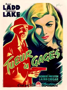 Where Danger Lives: FILM NOIR: FRENCH POSTER STYLE, PART TWO!