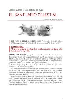 """Leccion 01 IV Trimestre 2013 """"El santuario celestial"""". Descarga aqui: http://gramadal.wordpress.com/ #LES"""