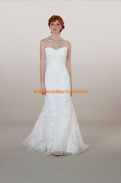 Liancarlo Süße Schlichte Brautkleider aus Softnetz