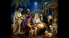 The Nativity - cross stitch pattern by Heaven and Earth Designs - A lovely picture of the first Christmas showing the stable in Bethlehem with Mary, Joseph and the baby Jesus, the Three Wise Men and a shepherd boy with lambs. Cross Stitch Art, Cross Stitch Patterns, Glitter Images, Jesus Christus, Jesus Art, Three Wise Men, Earth Design, Birth Of Jesus, Baby Jesus
