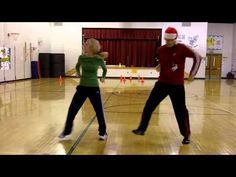 doing this! this guy was PE teacher of the year! He's pretty GREAT! Jingle Bell Dance (wo tutorial).mp4