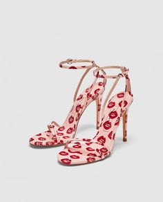 PRINTED HIGH HEEL SANDALS-NEW IN-WOMAN | ZARA United States