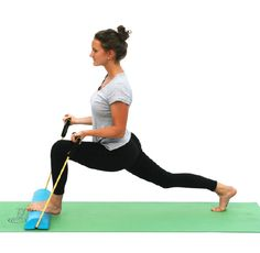 Low Lunge Bicep Curl - 9 Yoga Poses for The Body Beam