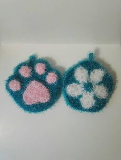 Creative Bubble, Turquoise Flowers, Washing Dishes, Cat Paws, Decorative Objects, Crochet, Are You Happy, Bubbles, Make It Yourself