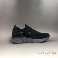 Nike Epic React Flyknit 2 Black Best Nike Air Force Black, All Black Sneakers, Sneakers Nike, Nike Shoes Outlet, Blue Lagoon, Air Force 1, Nike Men, Air Jordans, Black And White