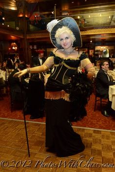 Mae West (see saloon costume e.g. http://www.costumecraze.com/SA1005.html)