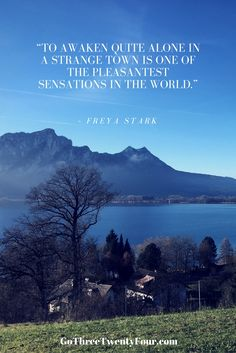 Travel Quote Freya Stark Solo Travel