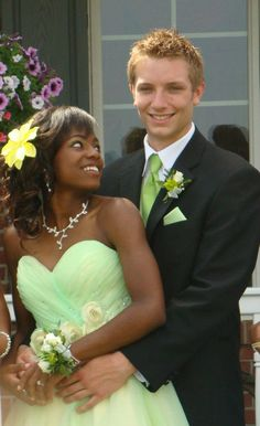 Tianna and her Beau! <3<3 ][ BlackGirlWhiteBoyLove