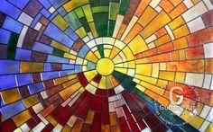 mozaik kaca patri indoensia Gudang Art