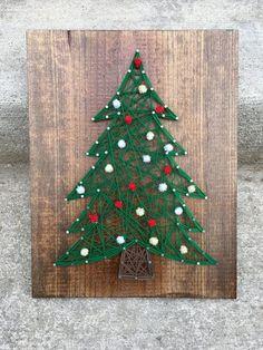Christmas Tree String Art