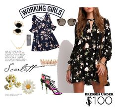 """""""Dresses under 100 dolars"""" by kristina779 ❤ liked on Polyvore featuring Dolce&Gabbana, Working Girls, Bounkit, adidas and STELLA McCARTNEY"""