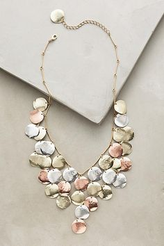 Anthropologie Aerarium Bib Necklace