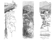 Travel Sketches - Peter Rich