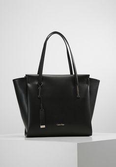 92b1e2566d72 Calvin Klein FRAME LARGE - Shopper - black - Zalando.be