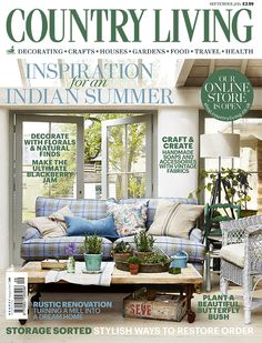 Ordinaire Country Living Magazine September 2014 Cover Countryliving.co.uk