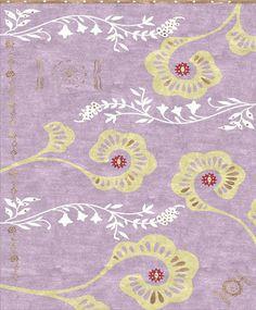 Custom Cool Rugs - Pink and Purple