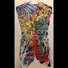 Dragon Tattoo Art, Hannya Tattoo, Traditional Japanese Tattoos, Lunges, Watercolor Tattoo, Instagram, Print Coloring Pages, Tattoos, Ideas