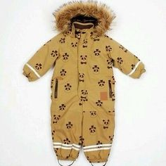 Brand new Mini Rodini panda print snowsuit overall