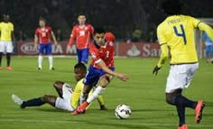 Chile 2 Ecuador 0 in 2015 in Santiago. Alexis Sanchez cuts his way through Ecuador's rear guard in the opening game at 2015 Copa America, Group A.