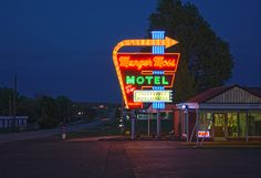 old neon signs....