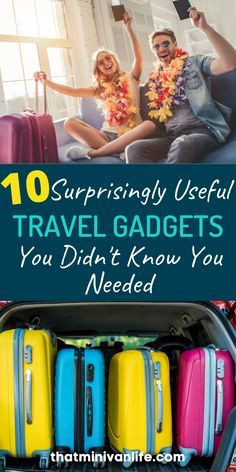 This list of 10 useful travel gadgets has everything you'll want to add to your list of travel essentials. Before you finish your packing list, you might want to read this! #traveltips #travelhacks #travelessentials Winter Travel Outfit, Travel Outfits, Summer Travel, Travel With Kids, Family Travel, Travel Essentials List, Travel Tips, Travel Destinations, Affordable Family Vacations