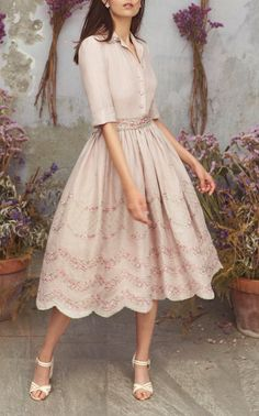 Get inspired and discover Luisa Beccaria trunkshow! Shop the latest Luisa Beccaria collection at Moda Operandi. Luisa Beccaria, Runway Fashion, Fashion News, Fashion Women, Women's Fashion, Fashion Trends, Modest Fashion, Fashion Outfits, Dress Skirt