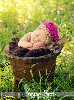 Newborn Knit Hat Baby Girl Hats Baby Beret Newborn
