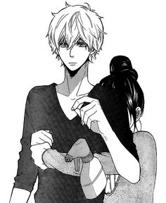 Erika y Kyouya // Ookami Shoujo To Kuro Ouji-wolf girl and black prince