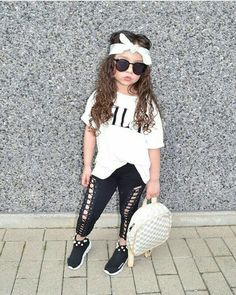 d155f63ce Cute Girl Outfits, Little Girl Outfits, Cute Outfits For Kids, Toddler  Outfits,