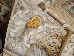 santa maria sopra minerva - trompe l'oeil detail