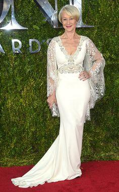 Helen Mirren absolutely SLAYED the Tony Awards red carpet.